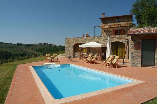 Frisch Ferienhaus Ultimo Eremo Toskana - Urlaub in Gaiole in Chianti  CM46