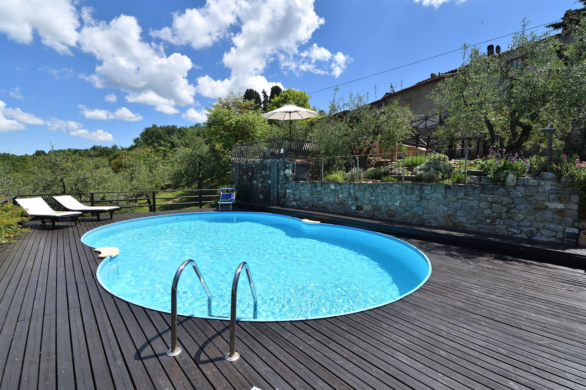 Ferienhaus Casa Silvia Toskana   Urlaub In Valigondoli   San Casciano In  Val Di Pesa   Florenz   Toskana Italien