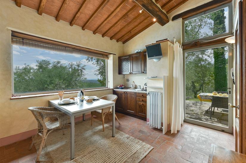 Ferienhaus Valliole Toskana - Urlaub in Lecchi in Chianti ...